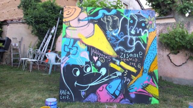 GRAFFITI ARTIST à POLLIONNAY