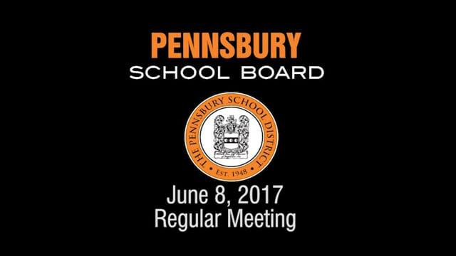 Pennsbury School Board Meeting for June 8, 2017