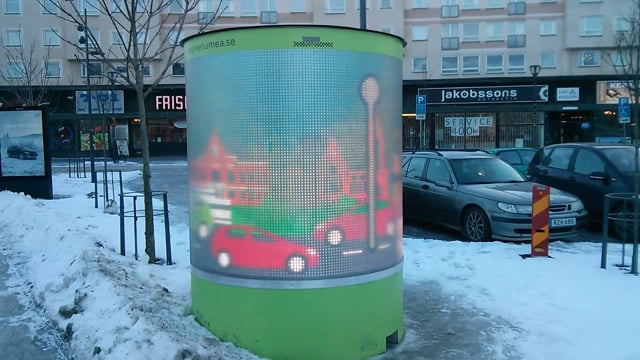 Outdoor Cylindrical Led Screen
