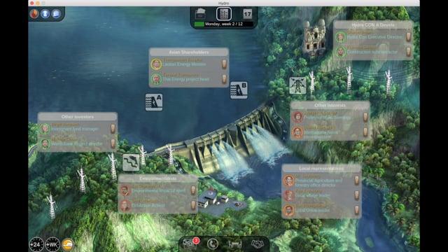 Hydro Laos Simulation – Introduction