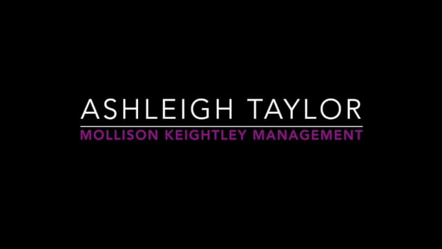 Showreel for Ashleigh Taylor