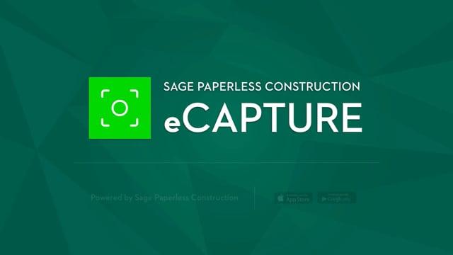 Sage Paperless eCapture