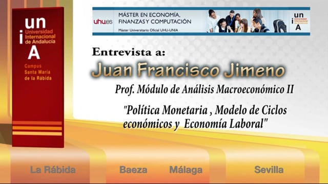 Entrevista a Juan Francisco Jimeno