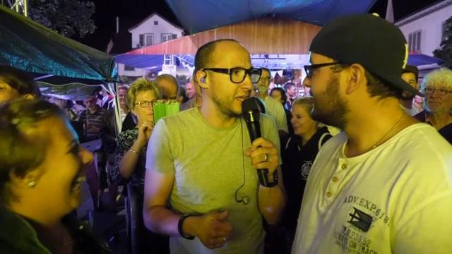 Ritschi am Strassenfest 2017