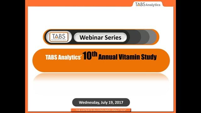 TABS 10th Annual Vitamin Study (07/19/2017)