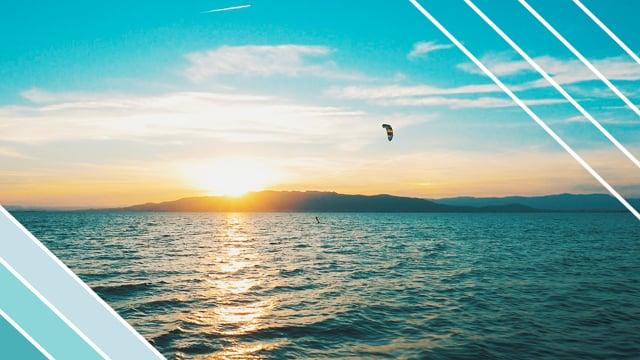 Kitesurf a la platja del Trabucador