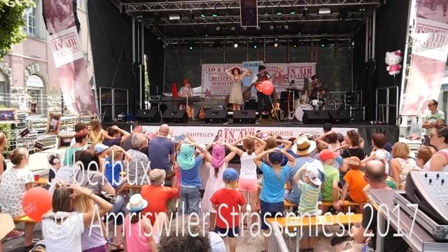 Silberbüx am Strassenfest 2017