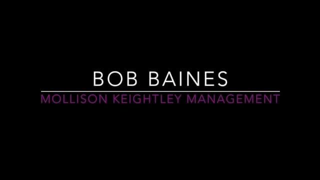 Showreel for Bob Baines