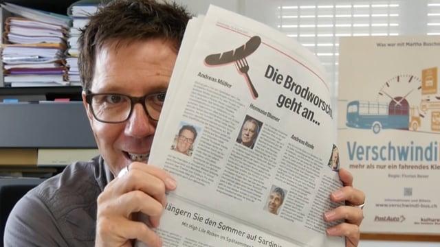 Brodworscht: Andreas Müller dankt für die Auszeichnung