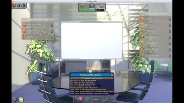 Strategic Sales Simulation – Introduction
