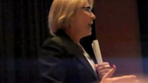 Aileen Introduces Street Smart Program to Fallsburg High School Students