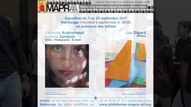 JULIE DIGARD - CHARLOTTE AUDOYNAUD et LUDIVINE ZAMBON