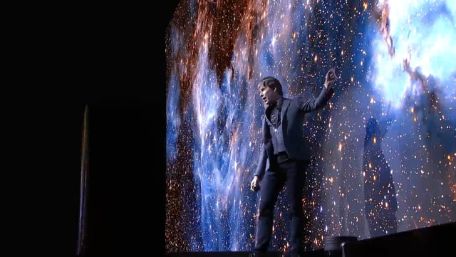 Prof Brian Cox - Live on Stage
