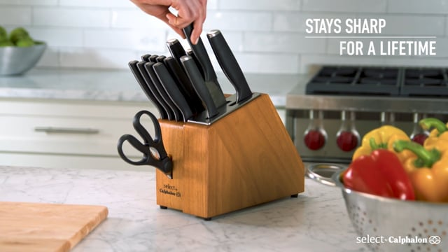 Calphalon Self-Sharpening Cutlery Commercial