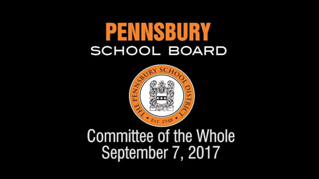 Pennsbury School Board Meeting For September 7, 2017