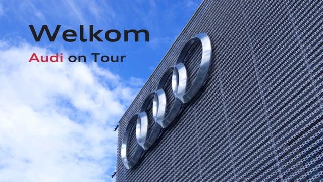 AfterMovie 'Audi on Tour' Pon Dealer