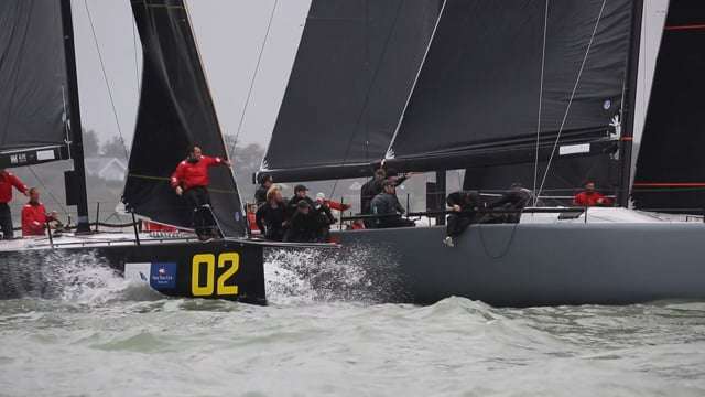 FAST40+ HYS One Ton Cup TT Rigging Race Day