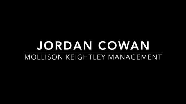 Showreel for Jordan Cowan