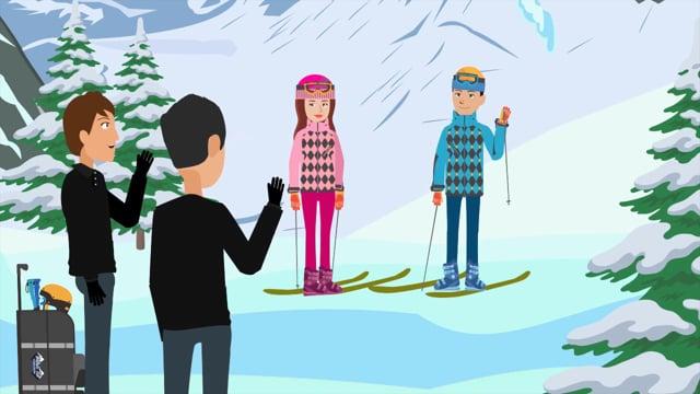Black Tie Ski Rental Delivery   Animated Explainer Video