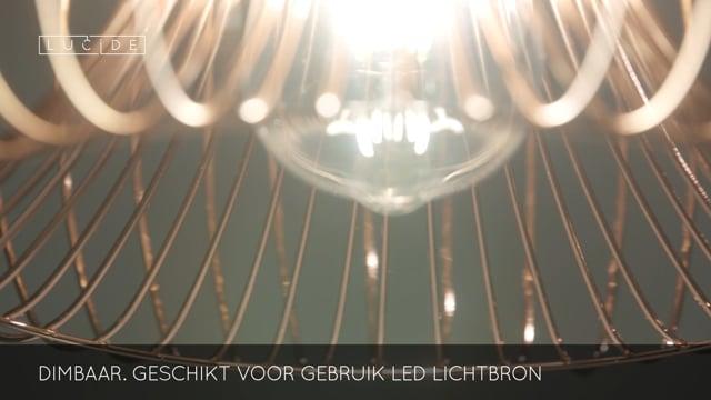 Lucide - VINTI - Hanglamp - 02400/30