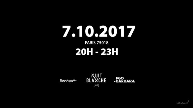 Official video Intercultural Visual Form_Nuit Blanche 2017