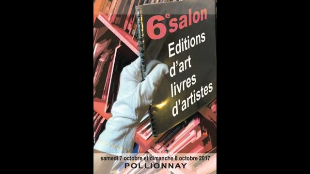 6e salon éditions d'art, livres d'artistes. La rumeur libre et Pierre TILMAN