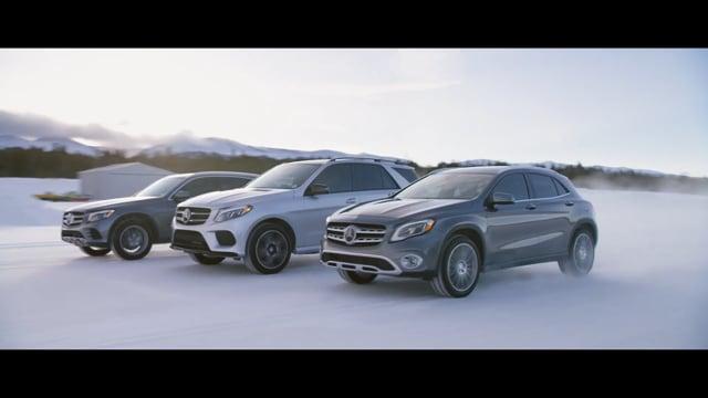 Mercedes-Benz SUV Commercial GLE GLC GLA