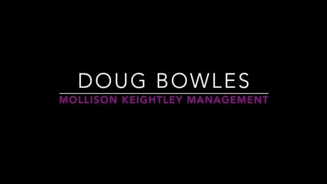 Showreel for Doug Bowles