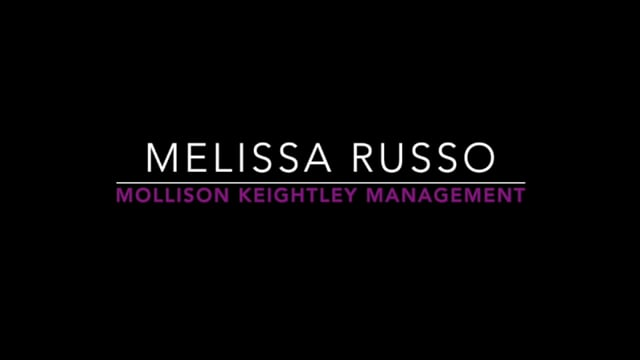 Showreel for Melissa Russo