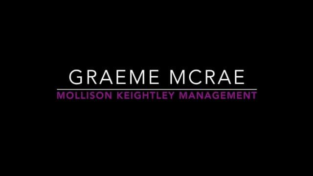 Showreel for Graeme McRae