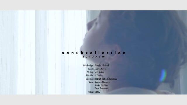 "nanuk 2017 A/W "" LOOKS "" TAKAHASHI 1st"