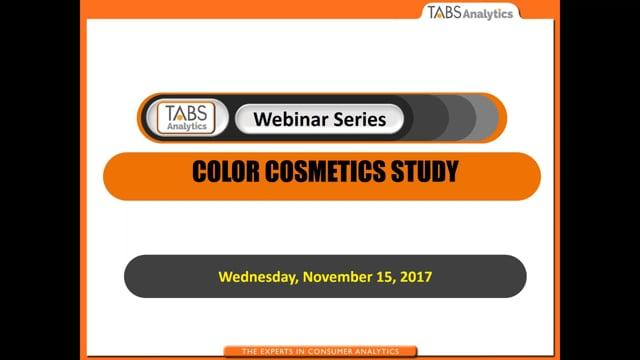 TABS 4th Annual Cosmetics Study (11/15/2017)