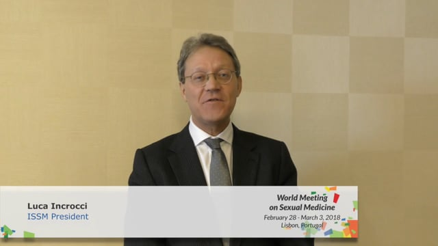 Luca Incrocci - ISSM President