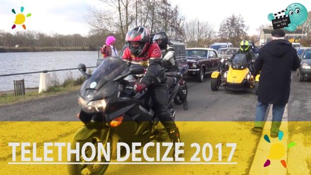 decize fait sa tele theleton 2017 ballade motos