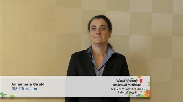 Annamaria Giraldi - ISSM Treasurer