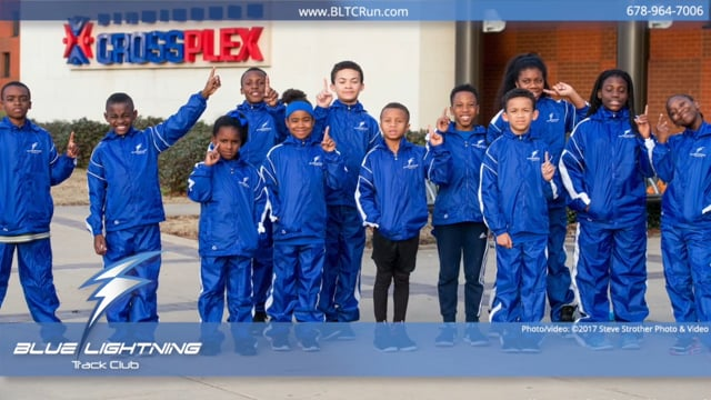 Blue Lightning Track Club - 12-16-17 Galleria Games - Crossplex Birmingham