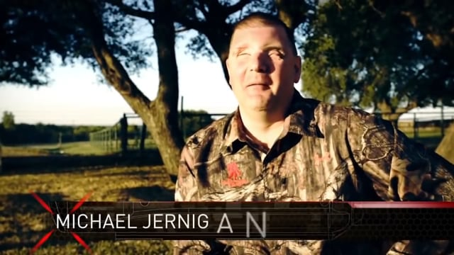 Mike Jernigan blind veteran uses TrackingPoint system to land a perfect shot