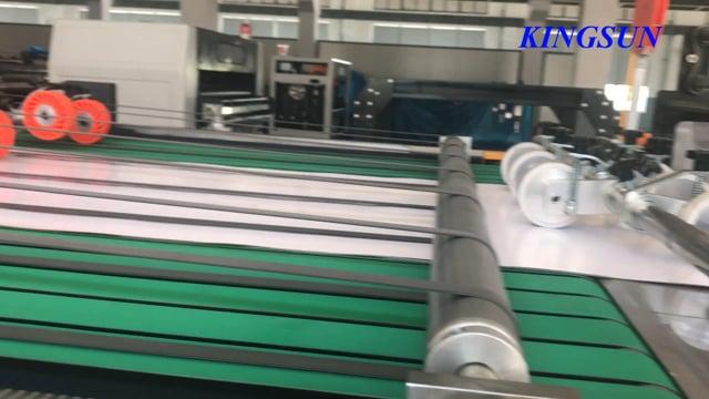 KSM-1400 Double Rotary Knife Automatic Paper Sheeter Machine   Paper Roll to Sheet Cutting Machine - Kingsun