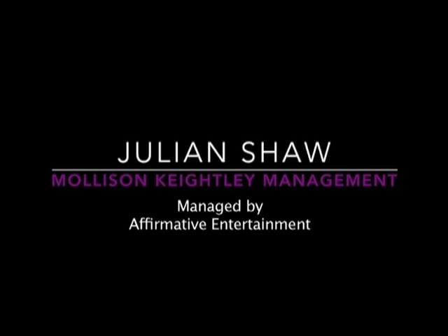 Showreel for Julian Shaw