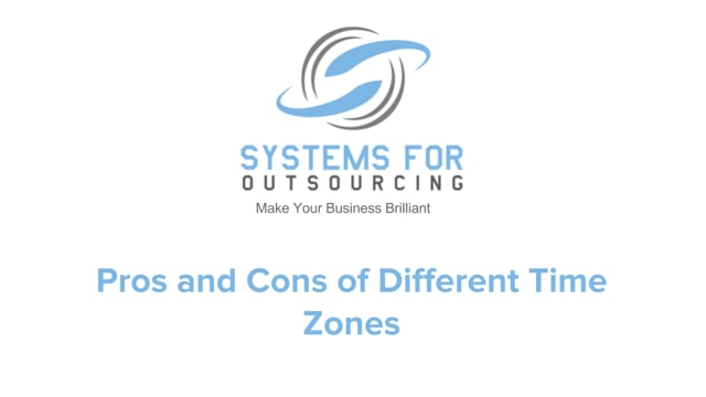 Pros and Cons of Different Time Zones
