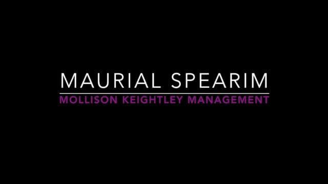 Showreel for Maurial Spearim