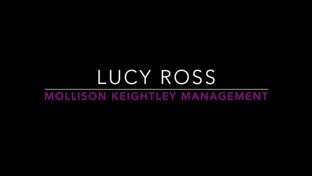 Showreel for Lucy Ross
