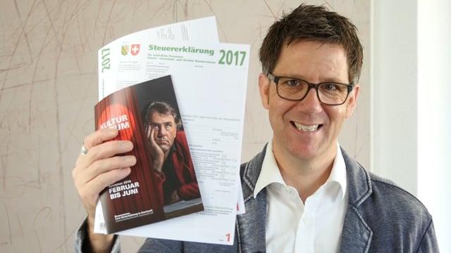 Aussergewöhnliche Belastungen: Stefan Waghubinger im Kulturforum