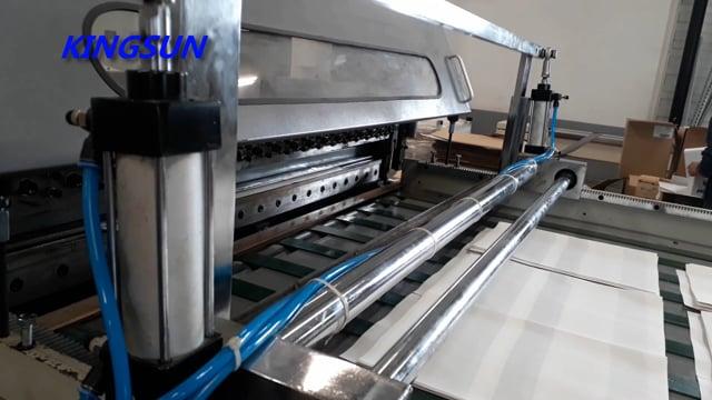 Baking Paper Sheeting Machine   Bakery Paper Roll to Sheet Cutting Machine - Kingsun Machinery