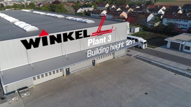 WINKEL Werk 3 in Betrieb | WINKEL Plant 3 in operation