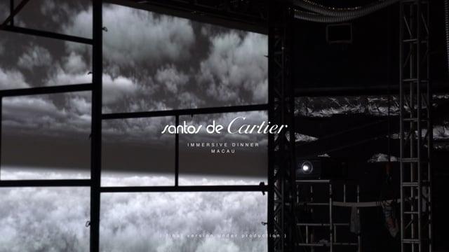 Santos de Cartier - Immersive Dinner - Macau