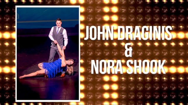 John Draginis & Nora Shook - DWTS Dubuque 2018