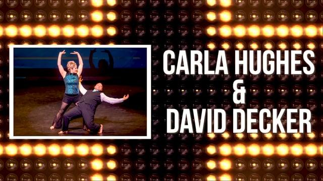 Carla Hughes & David Decker - DWTS Dubuque 2018