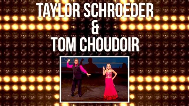 Taylor Schroeder & Tom Choudoir - DWTS Dubuque 2018