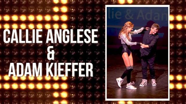 Callie Anglese & Adam Kieffer - DWTS Dubuque 2018